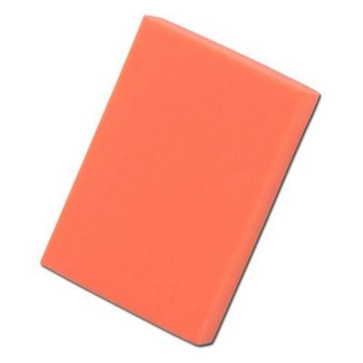 Picture of COLOURFUL RECTANGULAR ERASER in Neon Fluorescent Orange