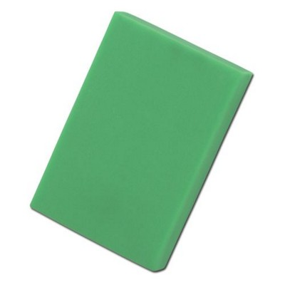 Picture of COLOURFUL RECTANGULAR ERASER in Neon Fluorescent Green