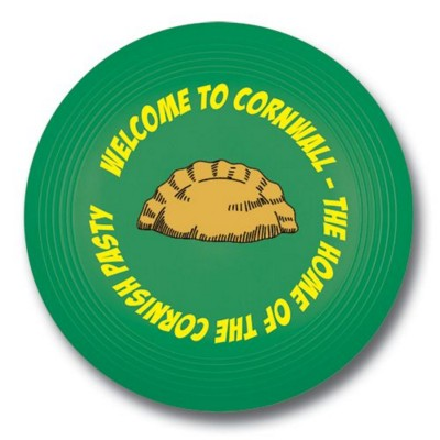 Picture of SMALL RECYCLED PLASTIC FRISBEE in Green