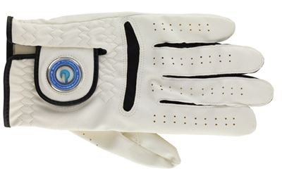 Picture of GOLF GLOVES in White with Black Trim