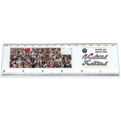 Picture of SLIDING PUZZLE RULER in White
