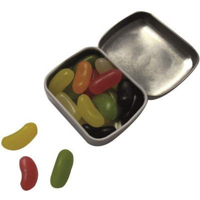 Picture of MINI HINGE TIN with Jelly Beans