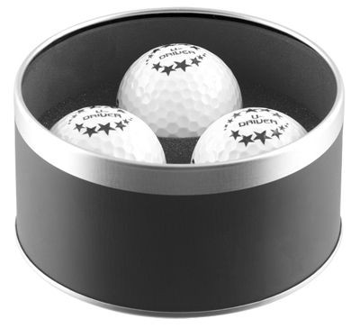 Picture of WEXFORD GOLF BALL TIN in Black