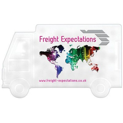 Picture of LORRY SHAPE MINTS CARDS in White
