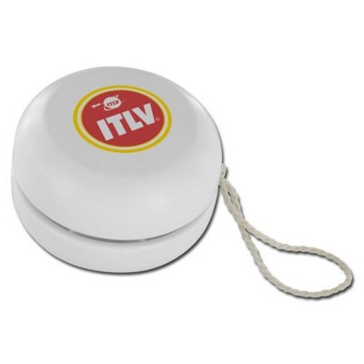 Picture of PLASTIC YOYO in White