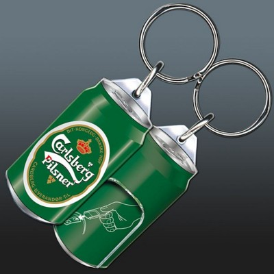 Picture of HIGH QUALITY ACRYLIC KEYRING with Ring Pull Can Opener