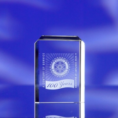 Picture of CREST GLASS AWARD TROPHY