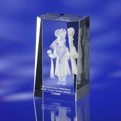 Picture of SHOWCASE GLASS AWARD TROPHY