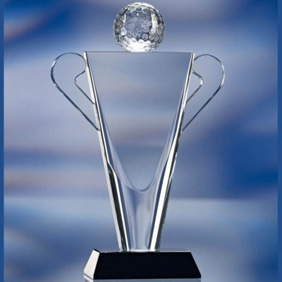 Picture of GOLF TROPHY GLASS AWARD TROPHY