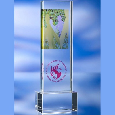 Picture of TALL GLASS AWARD TROPHY