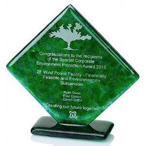 Picture of RECYCLED GREEN DIAMOND AWARD