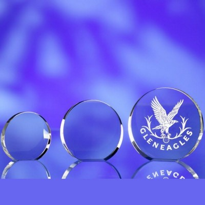Picture of ROUND GLASS AWARD TROPHY