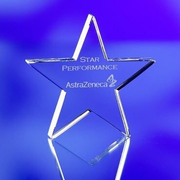Picture of STAR CRYSTAL PAPERWEIGHT & AWARD TROPHY