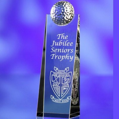 Picture of GOLF GLASS AWARD TROPHY