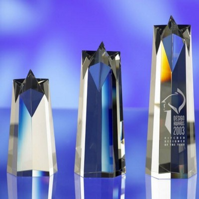 Picture of CRYSTAL SUPER STAR AWARD TROPHY