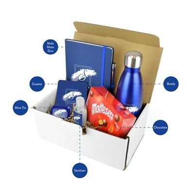 Picture of CORPORATE GIFT PACK PREMIUM in Blue
