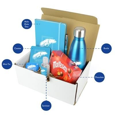 Picture of CORPORATE GIFT PACK PREMIUM in Cyan