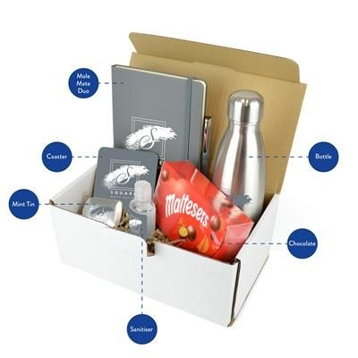 Picture of CORPORATE GIFT PACK PREMIUM in Pale Grey