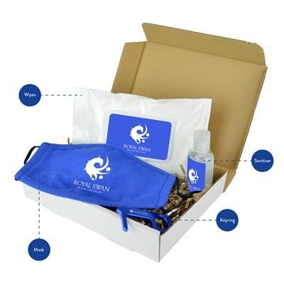 Picture of HANDY HYGIENE SET in Blue