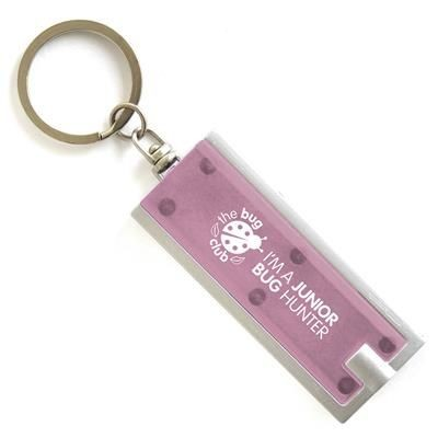 Picture of DHAKA KEYRING TORCH LIGHT in Light Pink
