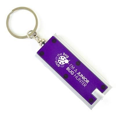 Picture of DHAKA KEYRING TORCH LIGHT LIGHT in Purple