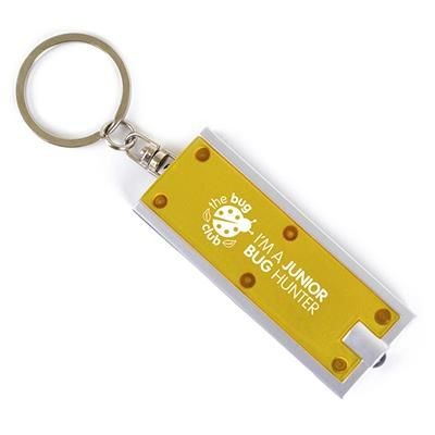 Picture of DHAKA KEYRING TORCH LIGHT LIGHT in Yellow