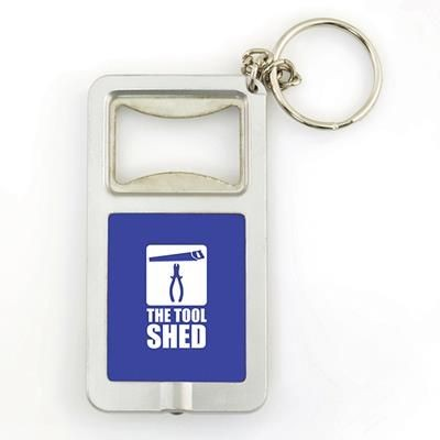 Picture of SOFIA BOTTLE OPENER KEYRING in Blue