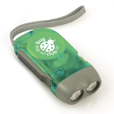 Picture of BEECH WOOD KINETIC DYNAMO TORCH in Green