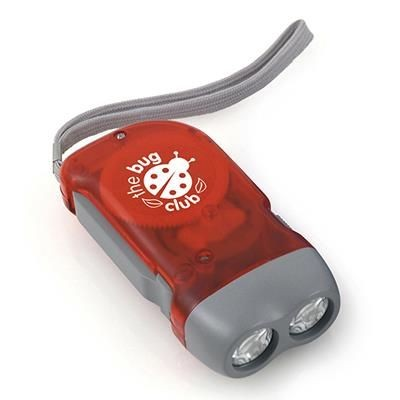 Picture of BEECH WOOD KINETIC DYNAMO TORCH in Red