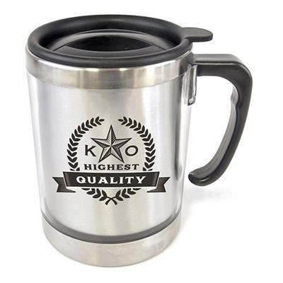 Picture of MATISSE TRAVEL MUG in Silver