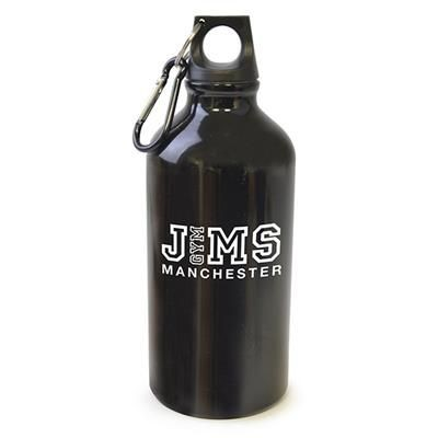 Picture of POLLOCK METAL DRINK BOTTLE in Black