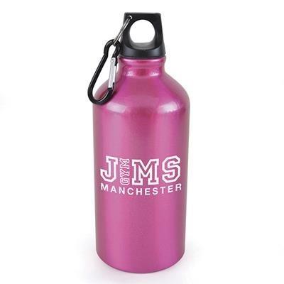 Picture of POLLOCK METAL DRINK BOTTLE in Pink