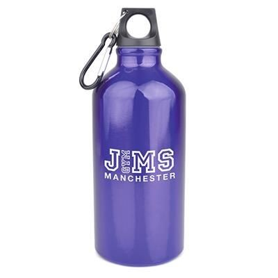 Picture of POLLOCK METAL DRINK BOTTLE in Purple