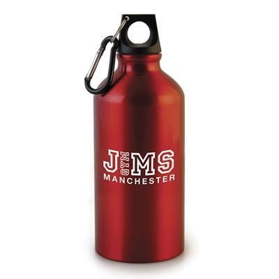Picture of POLLOCK METAL DRINK BOTTLE in Red