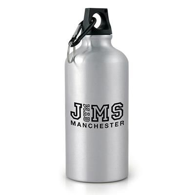 Picture of POLLOCK METAL DRINK BOTTLE in Silver