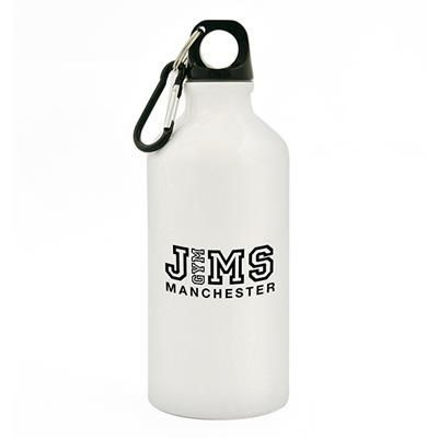 Picture of POLLOCK METAL DRINK BOTTLE in White
