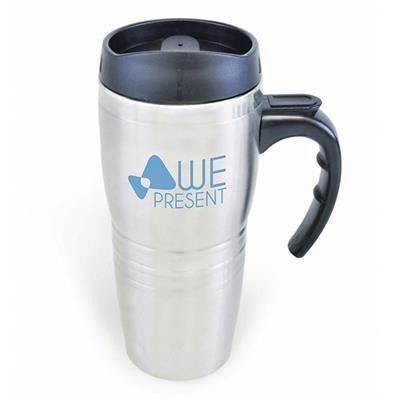 Picture of BLAKE TRAVEL MUG in Silver