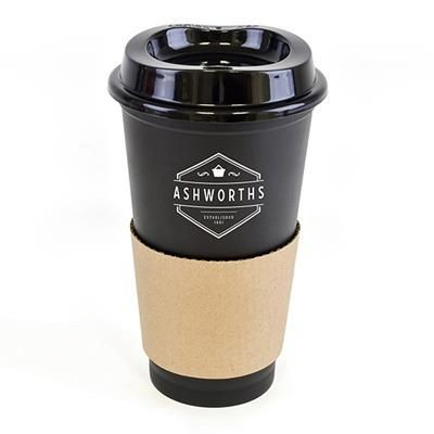 Picture of CAFÉ TAKE OUT MUG in Black