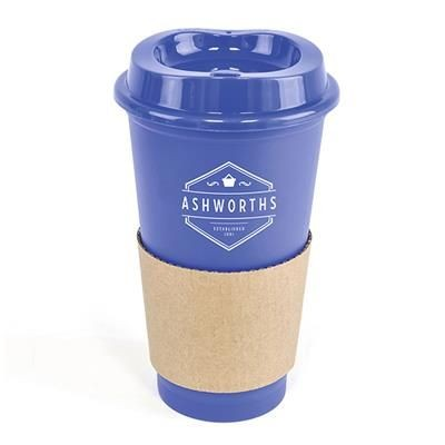 Picture of CAFÉ TAKE OUT MUG in Blue