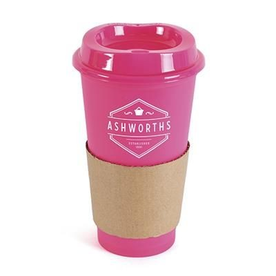 Picture of CAFÉ TAKE OUT MUG in Pink