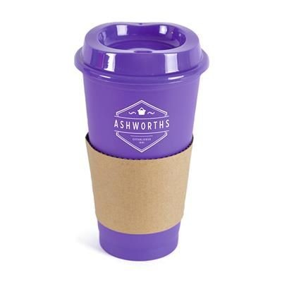 Picture of CAFÉ TAKE OUT MUG in Purple