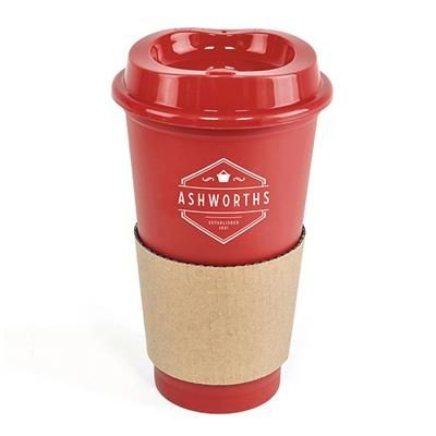 Picture of CAFÉ TAKE OUT MUG in Red
