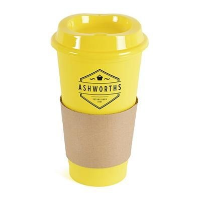 Picture of CAFÉ TAKE OUT MUG in Yellow