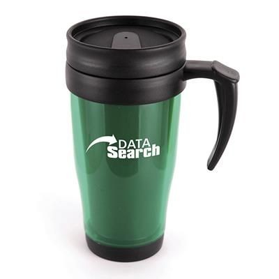 Picture of MARCO PLASTIC TRAVEL MUG in Green