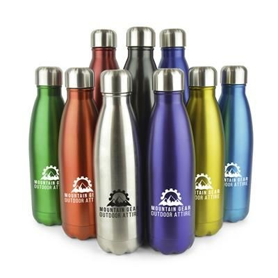 Picture of ASHFORD PLUS STAINLESS STEEL DRINKS BOTTLE