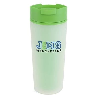 Picture of FROSTY PLASTIC TUMBLER in Green