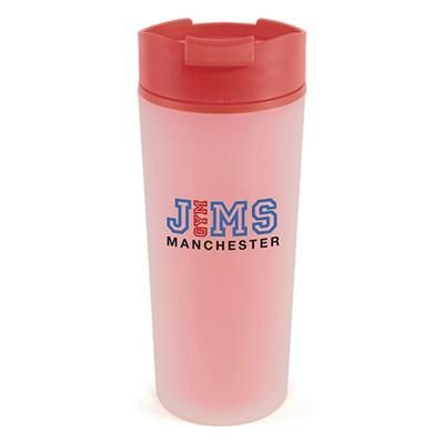 Picture of FROSTY PLASTIC TUMBLER in Red