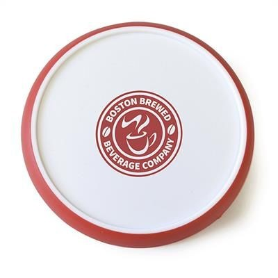 Picture of ROUND DISC COASTER in Red
