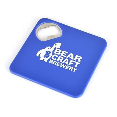 Picture of COASTER BOTTLE OPENER in Blue