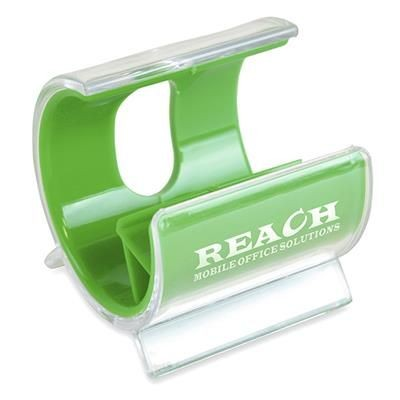 Picture of TURBO MOBILE PHONE HOLDER in Green